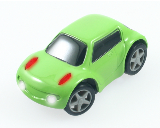 Scale 1:80 ZenWheels Newest MiNi Bluetooth Remote Control R/C MicroCar/ finger cars By IPhone/Ipad/Android Green(China (Mainland))