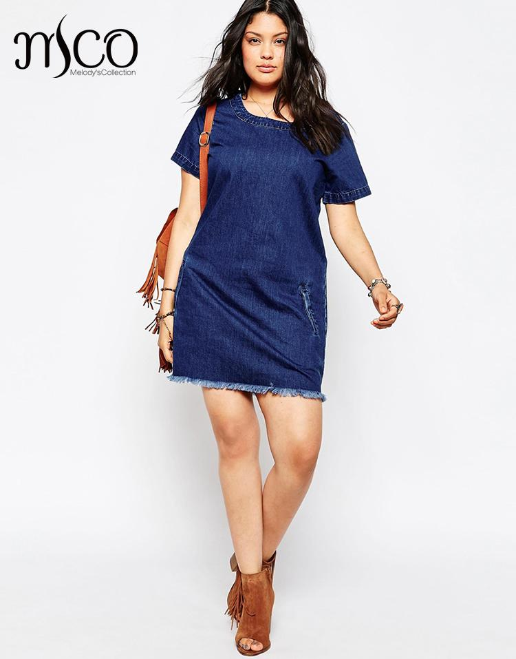 New Assembly Label Tunic Shirt Dress In Denim