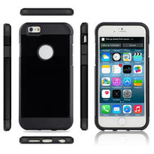 For Apple Iphone 6 6S & 6 6S Plus Case Luxury Ultra Thin 2 In1 Armor Shell TPU+PC Hard Back Tough Cover Cases For Iphone6 6SPlus