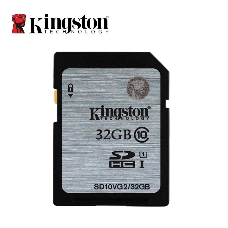 Original Kingston SD Card 32GB Flash Memory Cards Real Capacity Class 10 Digital SD Memory Card(China (Mainland))