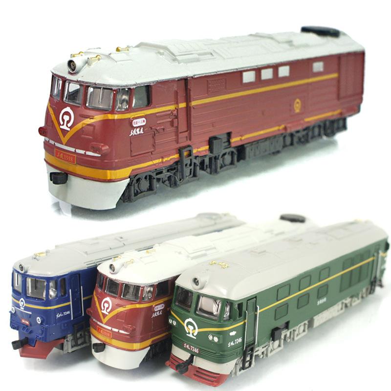 Diesel locomotive train model light alloy classical simulation toy car/Antique train model, Home Furnishing decorative ornaments(China (Mainland))