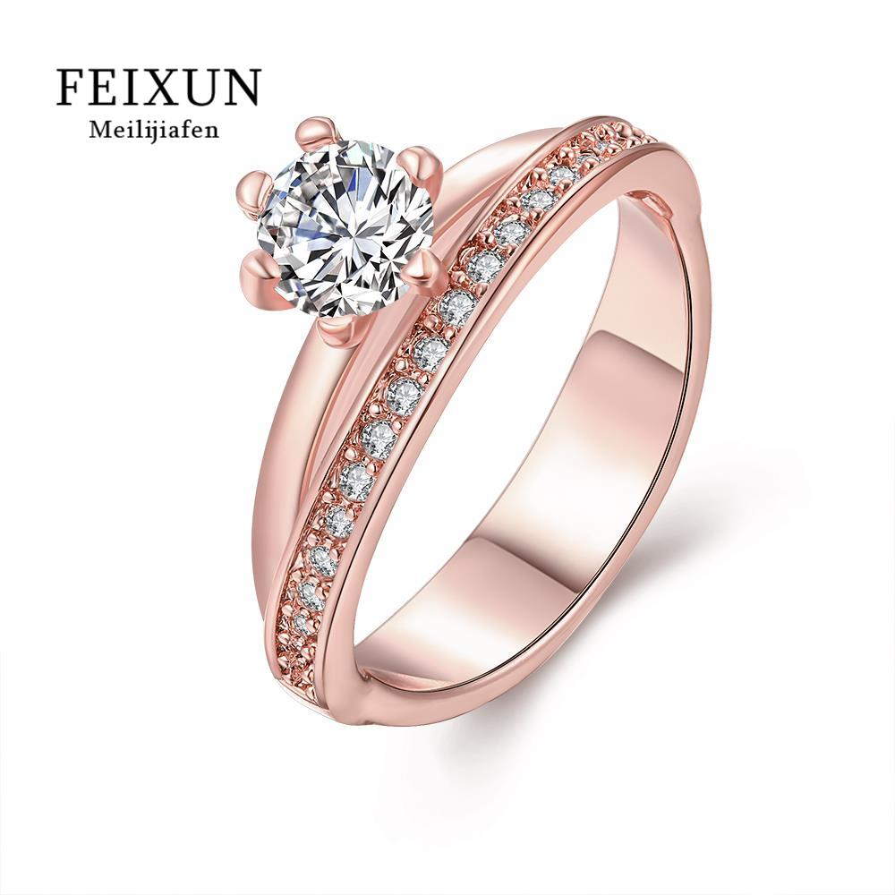 R344-B High Quality Nickle Free Antiallergic New Fashion Jewelry White Plated zircon Ring(China (Mainland))