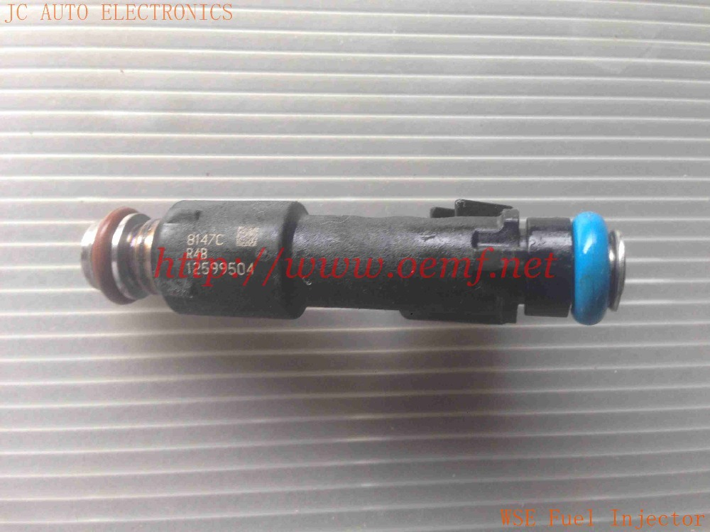 12599504 Fuel Injector Nozzle Injection case For 08-09 CHEVROLET GMC HUMMER ISUZU NEW(China (Mainland))