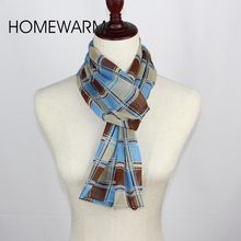New Fashion Style Spring Summer Women's 100% Chinese Silk Scarves Design Cotton Plaid Scarf Women Female Soft Ring Lady Shawl(China (Mainland))