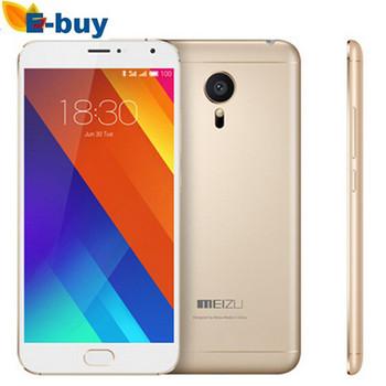 Оригинал Meizu MX5 мтк гелио X10 турбо Octa основной мобильный телефон 3 ГБ RAM 16 ГБ ROM 5.5 дюймов двойная камера 3150 мАч 1920 * 1080 P 4 г LTE