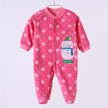 Baby Costume 2016 Autumn/Winter Similar Carters Baby Rompers Clothes Newborn Boy Girl Polar Fleece Baby Jumpsuit Clothing LC-18(China (Mainland))