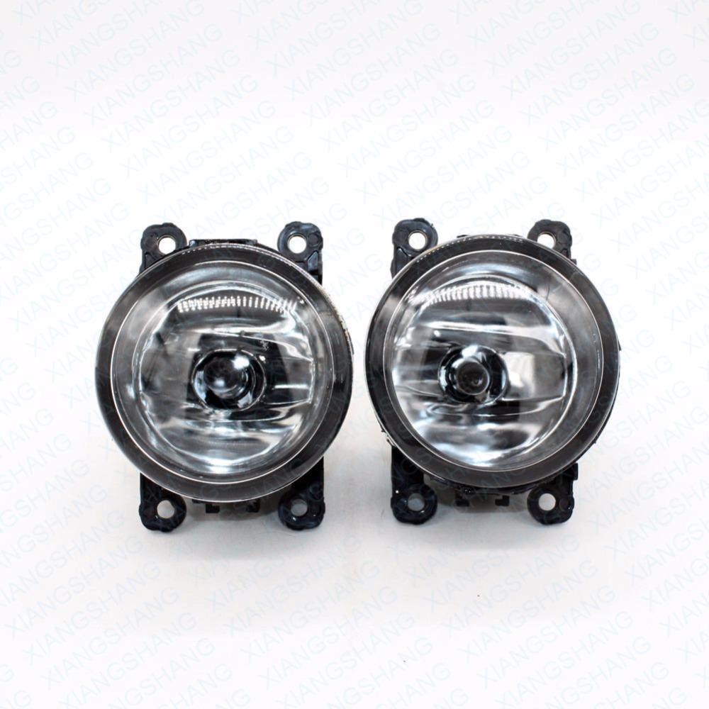 Front Fog Lights DACIA LOGAN Pickup US 2008-2015 Auto Right/Left Lamp Car Styling H11 Halogen Light 12V 55W Bulb Assembly