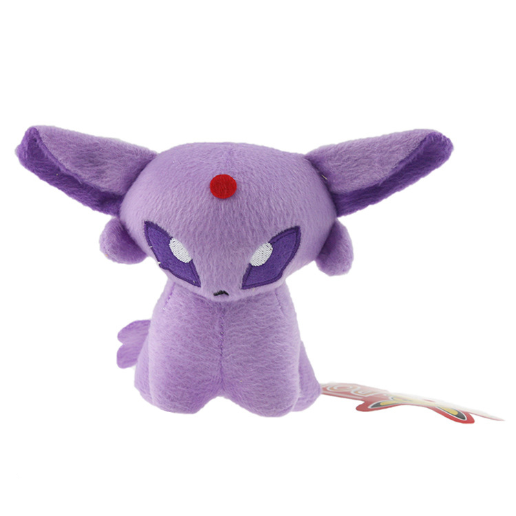 Pokemon Pikachu Cosplay Plush Toys Cute Espeon Eevee Plush Stuffed Animals Soft Toys Fashion Pokemon Plush Doll(China (Mainland))