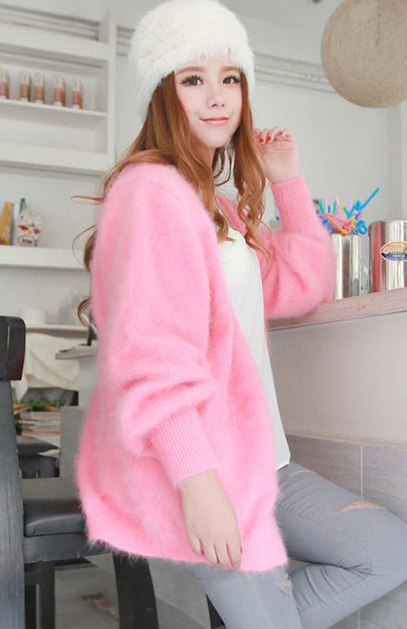 pure mink cashmere свитер Женщины 100% mink cashmere Кардиган свитер  retail big ...