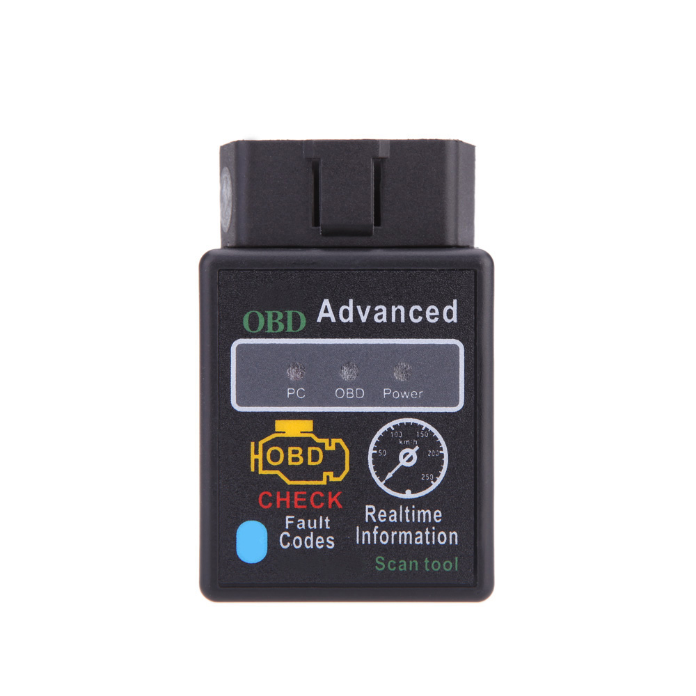 HH Mini OBD Bluetooth V2.1 OBDII OBD2 OBD 2 Protocols Car Diagnostic Tool Scanner Teater Works on Android Symbian Windows(China (Mainland))