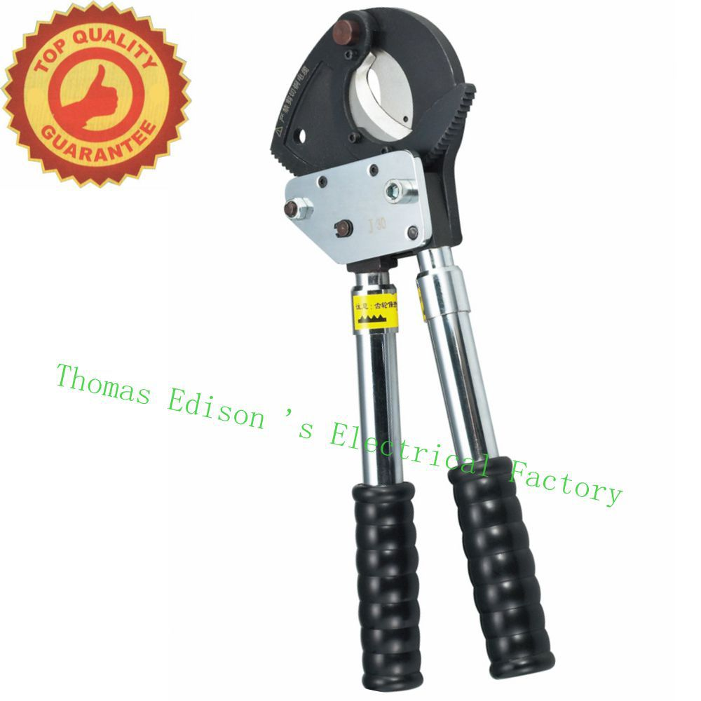 J30 Steel strand 100mm2 ACSR630mm2 Ratchet cable cutter for ASCR&steel strand(China (Mainland))