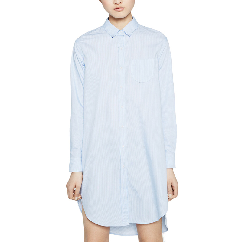 Luxury Com  Buy 2016 Elegant Shirt Dresses Women39s Long Shirt Dresses