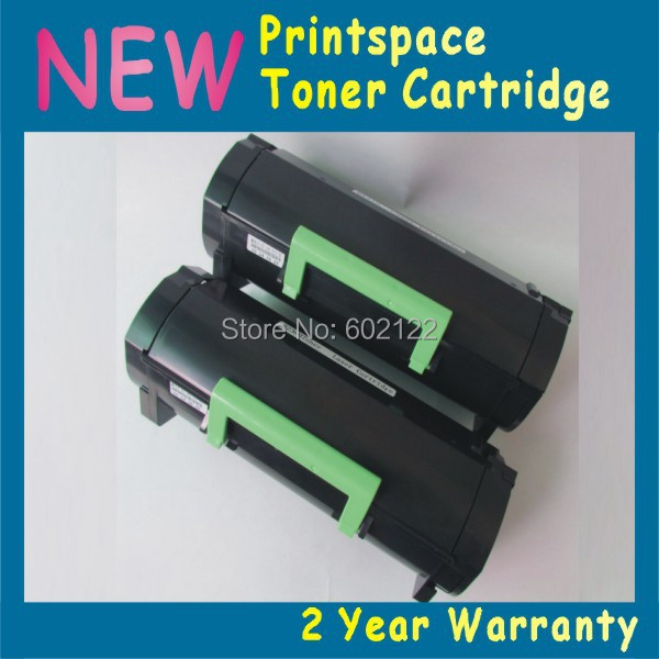 Фотография 2x NON-OEM Toner Cartridge Compatible For Lexmark MX310 MX310dn (10000 pages)