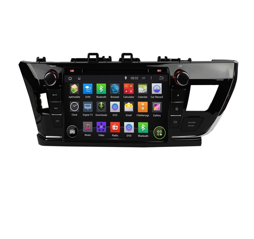 9 Inch 2 Din Android 5.1 Lollipop Car Stereo For Toyota Corolla(2014 2015) LHD,Quad Core 1.6G CPU,16G Flash,Radio,DVD Player,GPS(China (Mainland))