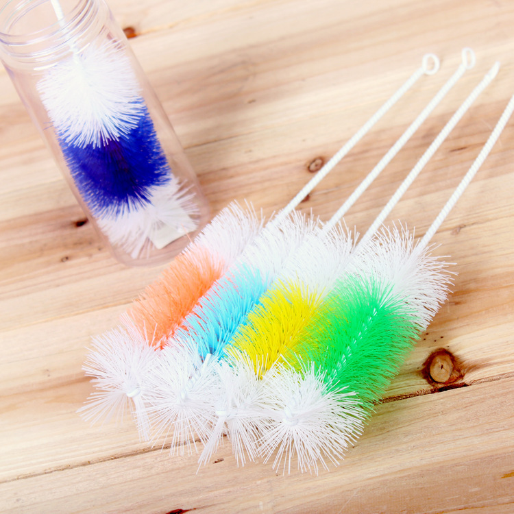 kitchen cleaning tools cup cleaner removable handle bottle cleaning brush plastic sponge brush for tea coffee glass HM376(China (Mainland))