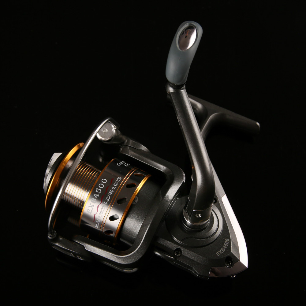 Fishing Spinning Reel 12+5BB Saltwater High-profile Lead-free Paint Boutique Spinning Reel Gapless Structure Fishing Reels(China (Mainland))
