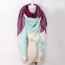 2015 Brand Cashmere Scarf Design blanket Plaid Fashion Warm in Winter Shawl For Women pashmina shawl(China (Mainland))