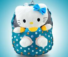 2014 new design school bags Hello kitty school bag kids gift backpack bag for children