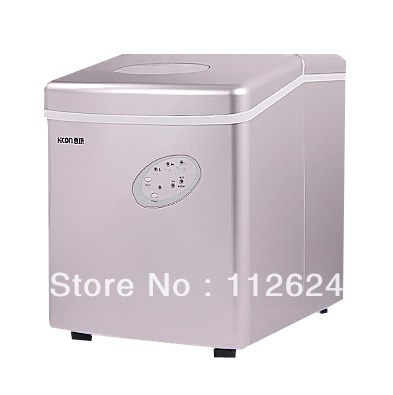 Free shipping-home use Ice Maker,Portable Automatic ice making machine/ice cube machine,15KG/24Hours