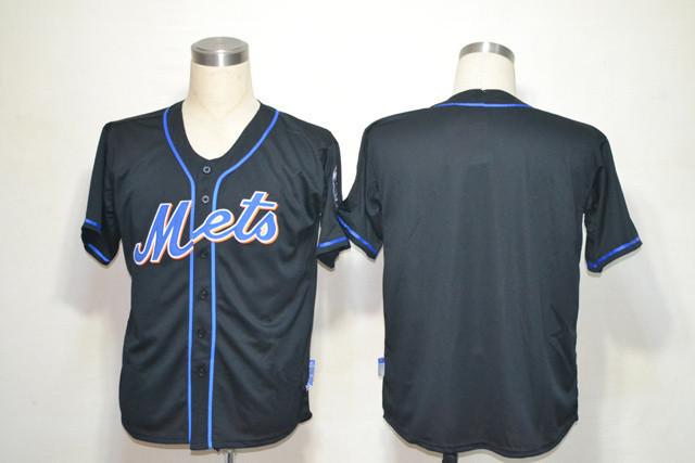 2015 New Arrived Baseball Jerseys York Mets Bank Black Customized Men's Size:48-56 Mix order