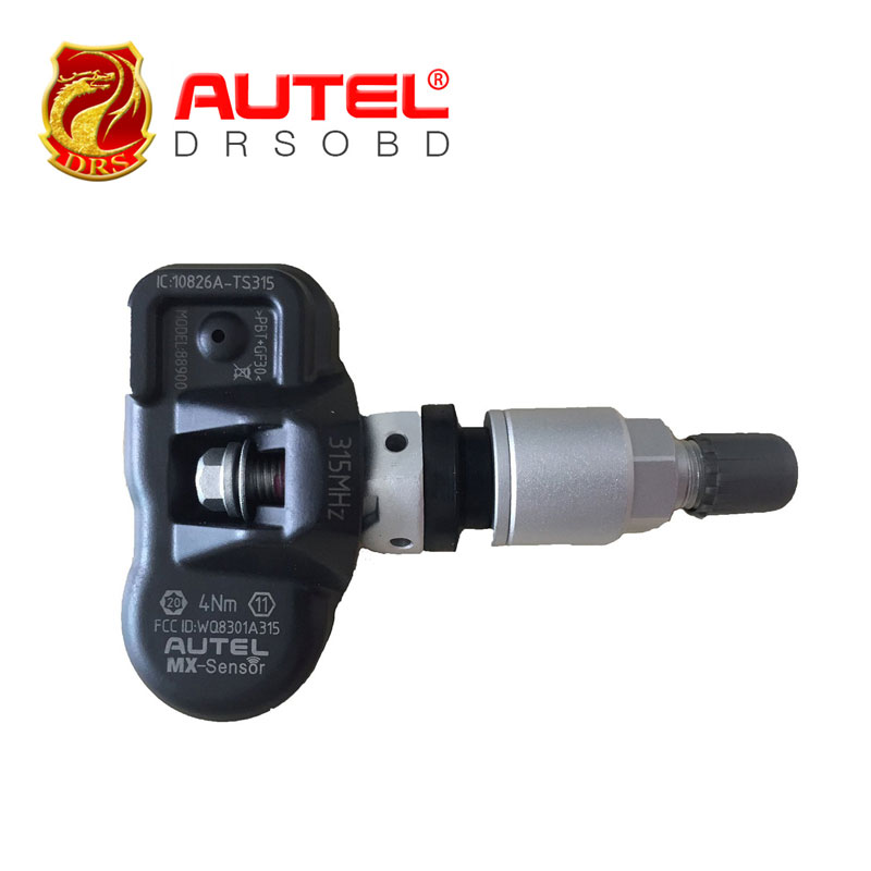 4pcs/lot Autel Diagnostic Tool MX-Sensor 315HZ TPMS Tire Pressure Sensor Replacement Programming With TS601(China (Mainland))