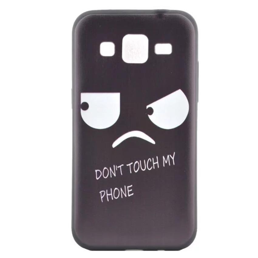Coque Cases fundas Samsung Galaxy core primeG360 Case Black TPU soft Silicone case cover shell Cover dream catcher capa para - Wang-Gou technology Co.,Ltd store