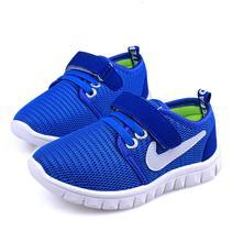 Printemps nouveaux enfants chaussures confortables non-glissement de garçon de chaussures de loisirs maille respirante chaussures de Sport pour enfants fille casual chaussures(China (Mainland))