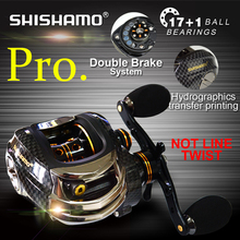 Korean Technology  LB200 Baitcasting Reel 18 Ball Bearings Carp Fishing Bass Fishing Left Handed Right Hand Bait Casting Fishing