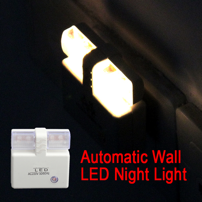 Automatic Energy Saving Nightlight Light Control LED Wall Night Light Lamp Free Shipping ASLT(China (Mainland))