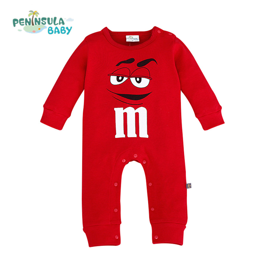 2016 New Arrival Baby Romper Cute Style Cartoon Long Sleeve Boys Clothing Newborn Baby Girls Costumes Kids Jumpsuit Clothes(China (Mainland))