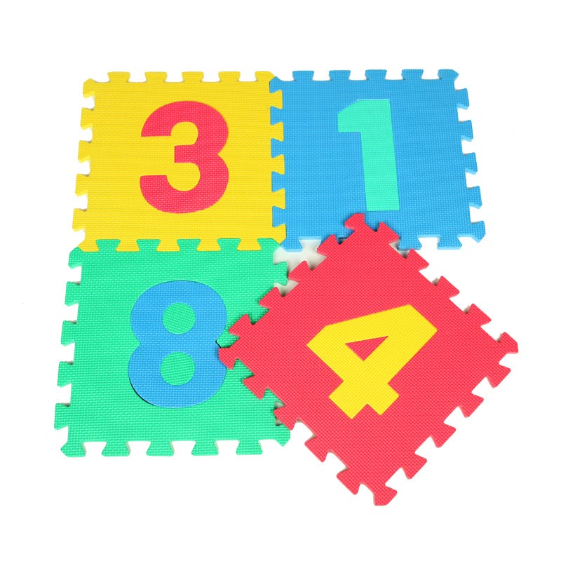 Baby Play Mat Interlocking Puzzle Games EVA Mat Children Number Soft Foam Carpet Rug Playmat For Kids Floor Crawling Infant Toys(China (Mainland))