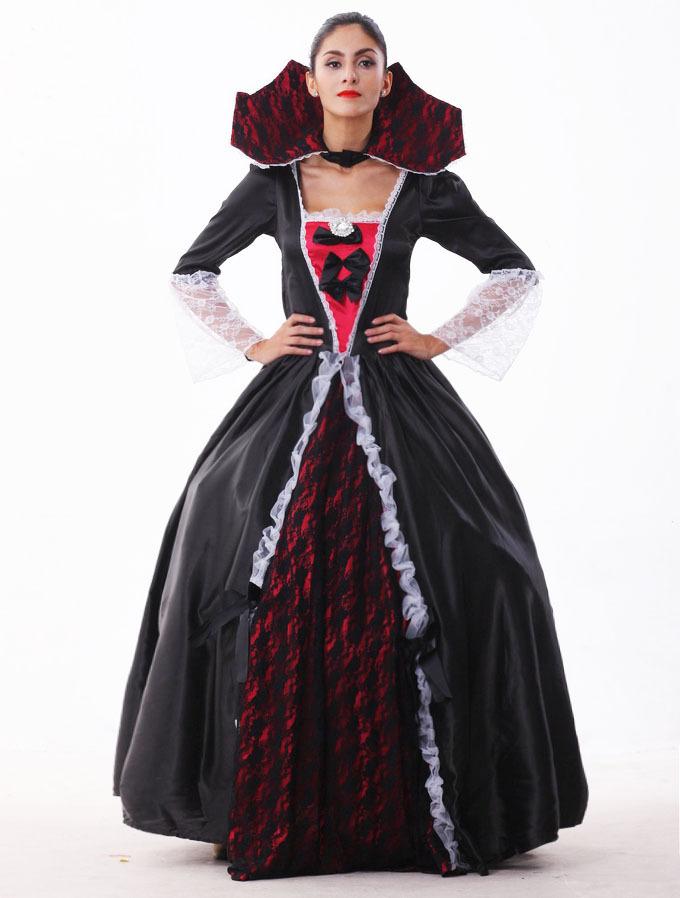 Костюмы вампира на новый гДлинное вечернее платье
