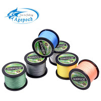 Agepoch 500 m Braided Multifilament Super Power Pe Fishing Line Rope The Peche Spearfishing Cord Wire Peche Carp Winter Thread 4