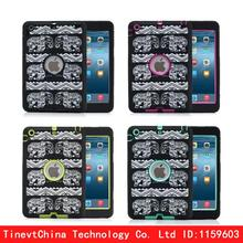 Luxury Heavy Duty Silicone Tablet Case Cover Outdoor Accessories For Apple iPad Mini 1 2 3 Shockproof Protective Cases