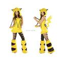 Pokemon Pikachu Anime Cute For Girl Women Sexy Cosplay Cartoon Costume Mascot Adult Jumpsuit Christmas halloween