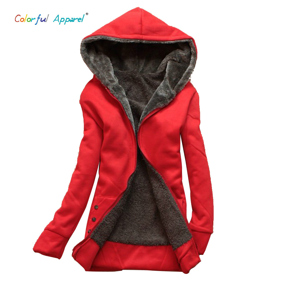 2014 Women Winter Hoodies Womens Casual Cotton-padded Warm Coat Wool Winter Jacket Hooded C41Одежда и ак�е��уары<br><br><br>Aliexpress