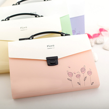 A4 Pastas File Folder Document Filing Bag Stationery Expanding Wallet Documents Fichario Escolar - SmartBao Store store