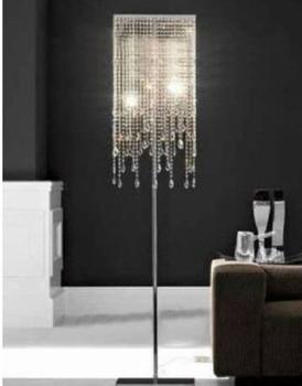 Factory selling H160cm New Modern Design Contempoary Elegant Crystal Floor Lamp Light Lighting
