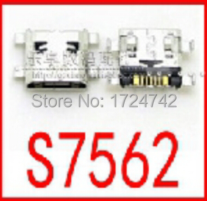 100pcs/lot  New Charging Port for Samsung s3 mini I8190 S7562 Micro USB Socket Connector Free Shipping <br><br>Aliexpress
