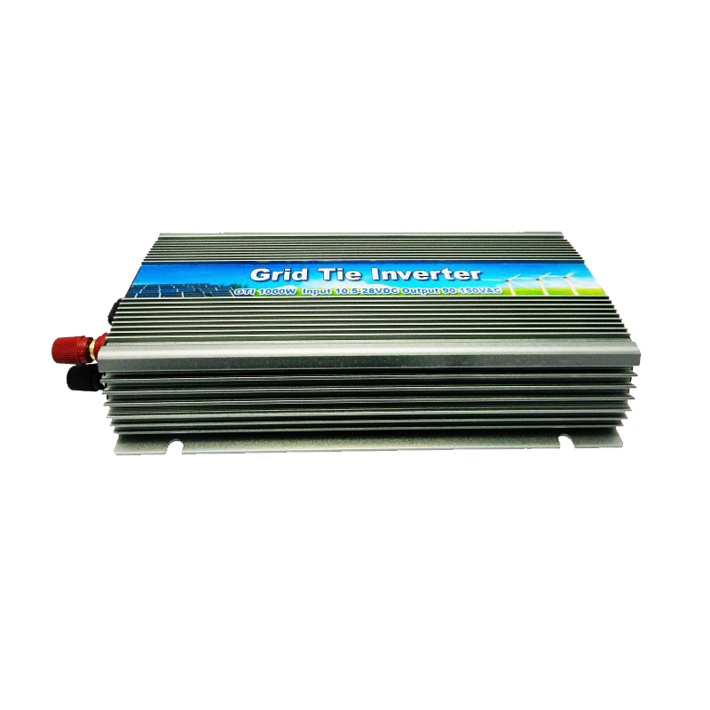 1000W Solar High Frequency Pure Sine Wave MPPT Grid Tie Inverter,input 22-50VDC Output 180-260VAC, For Alternative Energy(China (Mainland))