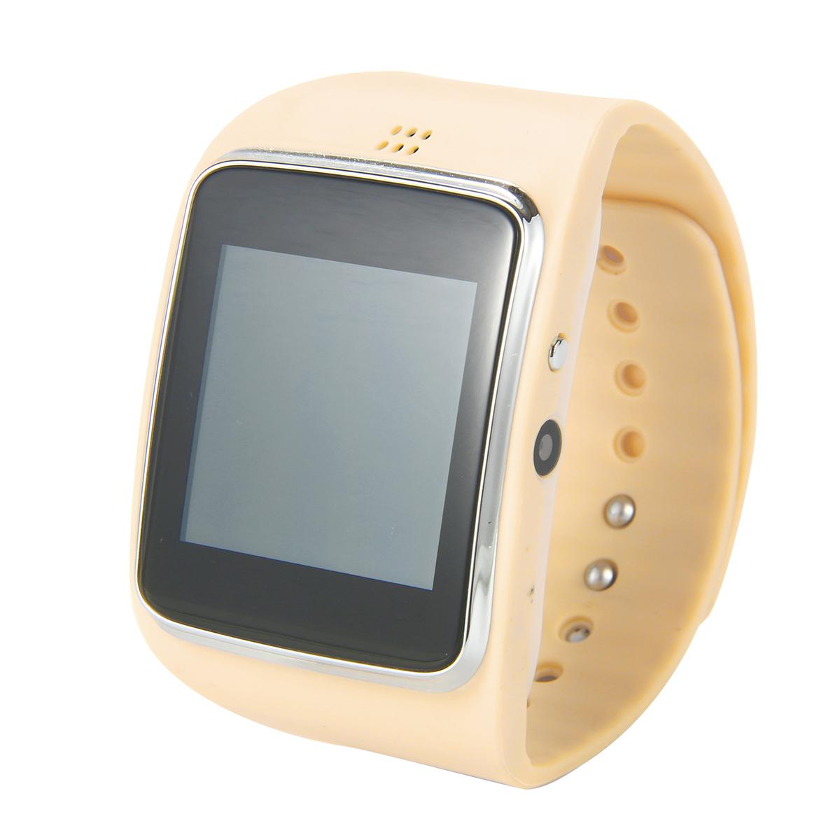 Bluetooth 3.0 Smart Wrist Watch + 0.3 MP Camera For iPhone 5 5S 6 Plus IOS AC260-SZ<br><br>Aliexpress
