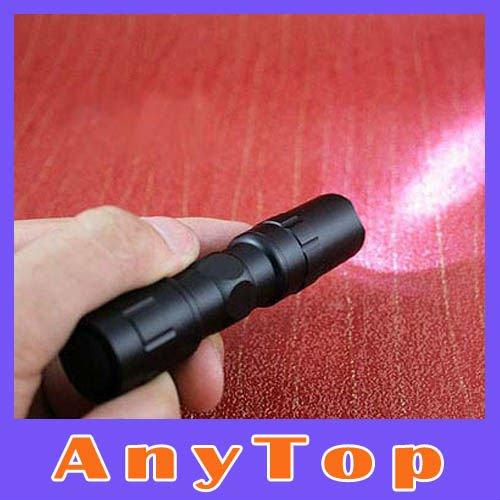 50 pcs/lot, Mini aluminum 3W LED Torch Handy Flashlight Waterproof Sporting,hiking,camping,DHL  -  ShenZhen AnyTop Technology Co.,Ltd store