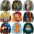 Anime Dragon Ball Z Characters 3D Sweatshirt Cartoon The Avatar State Print Crewneck Pullovers Women Men Long Sleeve Outerwear