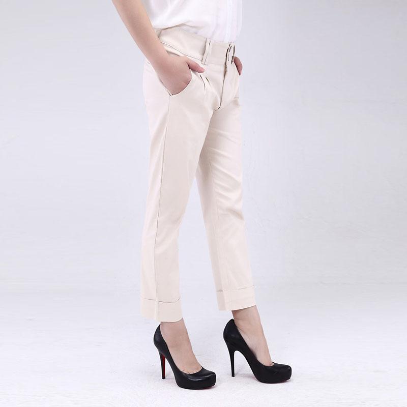Lastest Dondup Casual Trouser In White Khaki  Lyst