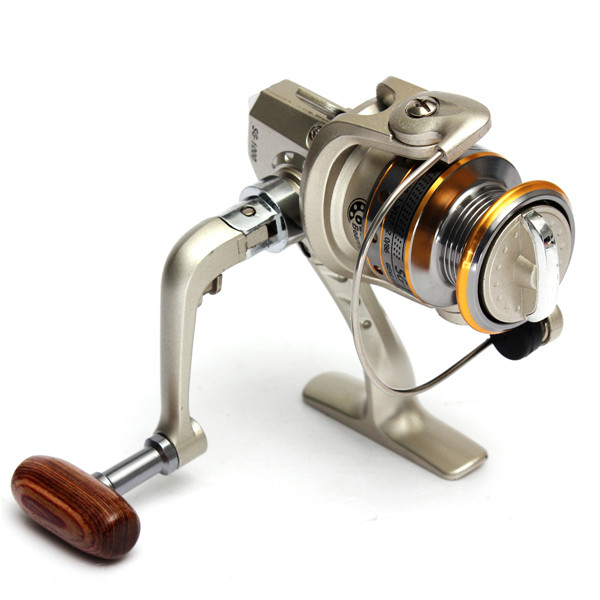Hot selling 6 BB 6BB High Power Gear Spinning Spool Aluminum Fishing Reel SG1000 for Fishing tackle line Bait runner(China (Mainland))