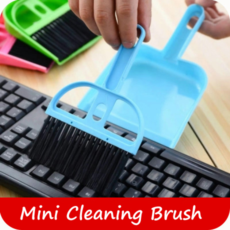 Mini Cleaning Brush Dustpan Small broom suit Keyboard Brush(China (Mainland))
