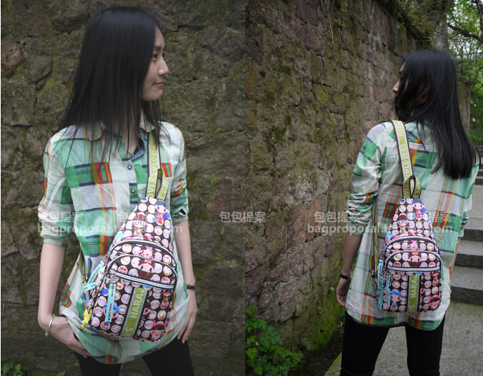 women messenger bags handbag doll women bags chest pack fashion messenger bag mochila shoulder bags card case women handbag(China (Mainland))