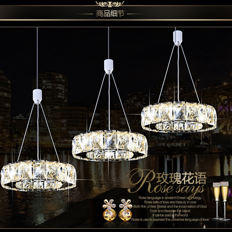 Fashion Tiffany Luxury Modern Pendant Light Indoor Living Room Dining Restaurant Decoration Fixture LED Lighting Circles Lamp<br><br>Aliexpress