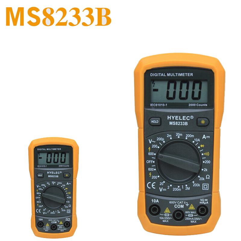 Multifunction Meter 96x96 : Hyelec ms b professional digital multimeter multitester