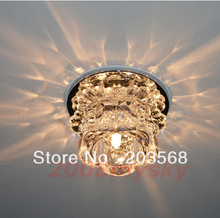 D19Modern Crystal LED Ceiling Hallway Light Pendant Lamp Fixture Bulb Chandelier(China (Mainland))